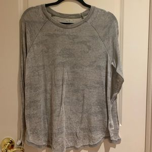 A Faded Vintage Camouflage American Eagle Shirt